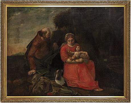Dutch school, 18th century, oil on canvas.