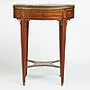 A late gustavian table, late 18th century.