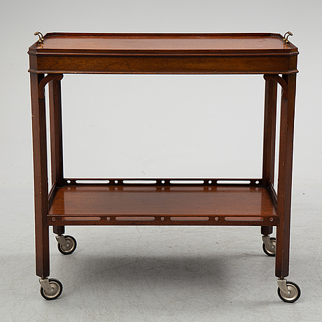 Serving trolley, second half of the 20th century.