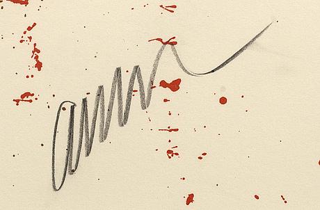 Fernandez arman, färglitografi signerad och numrerad x/xx.