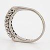 Half-eternity brilliant-cut diamond ring, 0,76 ct.