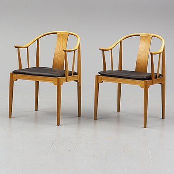 "HANS J WEGNER, ""The China Chair"", ""FH1783"", Fritz Hansen, Denmark, 1994."