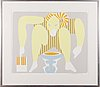 Lasse marttinen, serigraph, signed and dated 1987, numbered 350/e.a. 31.