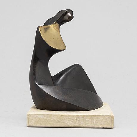 Stan wys, sculpture, bronze, signerad i/xii. dated 1999.