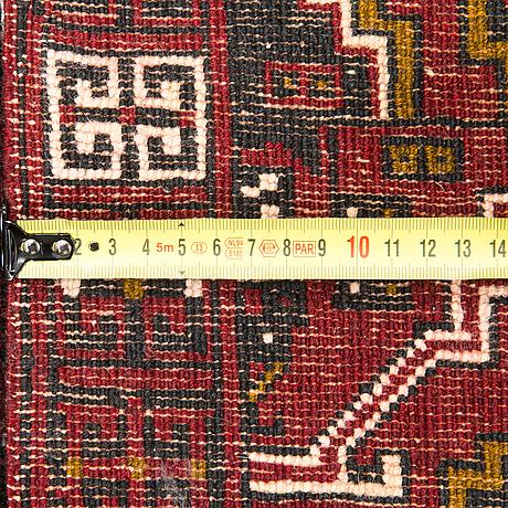 An oriental rug. circa 225x147 cm.