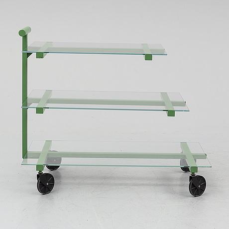 Josef frank, a model 691 tea trolley from svenskt tenn.