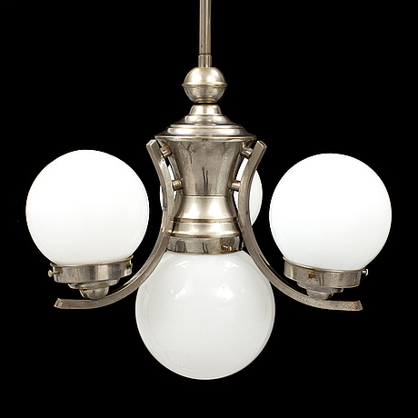A 1930's/40's ceiling light.