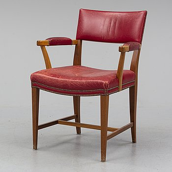 JOSEF FRANK, a model 695 armchair, Firma Svenskt Tenn.