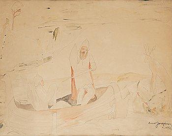 512. Ernst Josephson, Imaginary scene.
