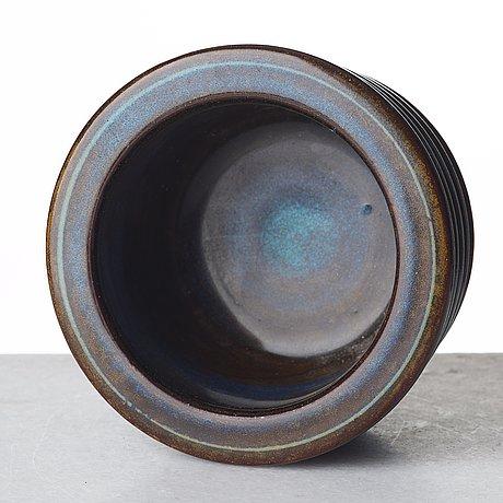 "Wilhelm kåge, a ""farsta"" vase, gustavsberg studio, sweden 1955."