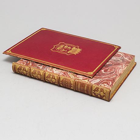 Bok, 9 vol, svenska slott och herresäten, stockholm 1908-23.
