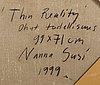 """Nanna susi,""""thinreality""""."""