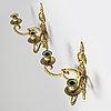 Appliquer, ett par gustaviansk stil, 1900-talets mitt.