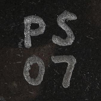 PÅl svensson, skulptur, diabas, signerad o daterad -07.