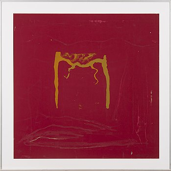 ELSA YTTI, serigraph, signed and dated 1991, numbered TPLA 13/26.