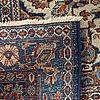 A semiantique/antique keshan carpet ca 470 x 350 cm.