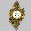Wall clock, japy frères, louis xvi-style, france, ca 1900.