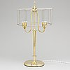 A swedish grace brass table light, 1920's/30's.