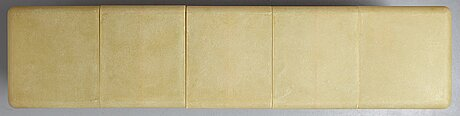 "Jonas lindvall, ""sacred box / bookworm"", a storage unit, unique for fosieplast 2004-2008."