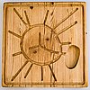Ilmari tapiovaara, a 1960's cutting board for laupaan puu.