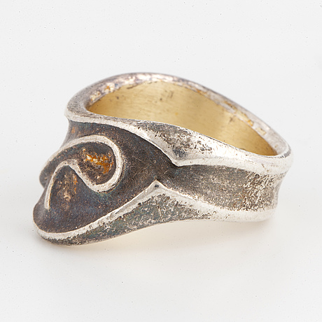 A lapponia silver ring 1998.