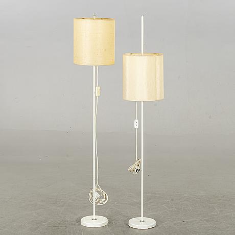 Floor lamps, 2 pcs, second half of 20th century.