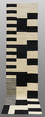 A runner, flat weave, ca 340 x 80 cm.