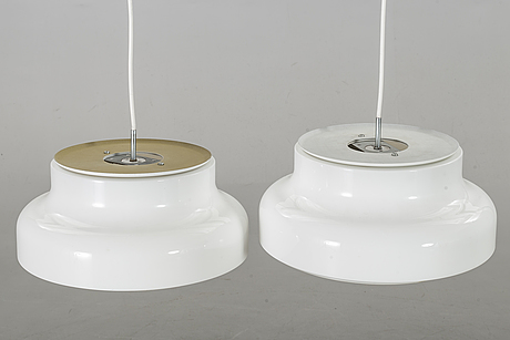 Anders pehrson, a pair of bumling pendants.