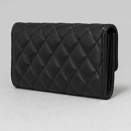 Chanel, a 'classic long flat' wallet.