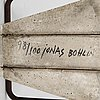 """Jonas bohlin, """"concrete"""", nojatuoli, källemo, värnamo 1981."""