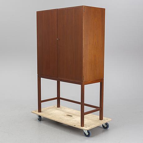 An axel larsson mahogany cabinet '1-147' from ab svenska möbelfabrikerna bodafors, 1963.
