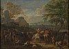 Unknown artist, 18th century, oil on paper/canvas.
