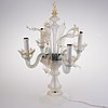 Bordslampa, murano, italien 1900-talets mitt.