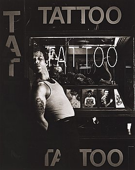Greg Gorman, photograph signed and numbered 4/25 on verso.