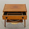 A sewing table, denmark, second half of the 20th century.