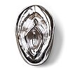 "Åsa jungnelius, a mould blown silvered glass sculpture ""snippan"", edition of 3 pieces, konstfack sweden 2004/2009."