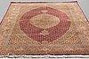 Matta, täbris, part silk, 50 raj, 305 x 200 cm.