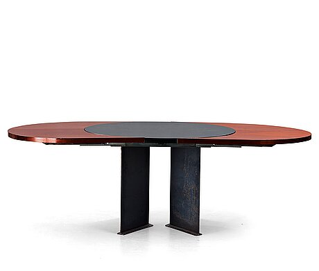 A dining table by per öberg architects, late 20th century dinner table.