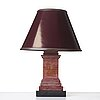 A 20th century table lamp.