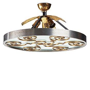 245. Lars Holmström, a Swedish Grace chandelier, Arvika Sweden 1920-30's.