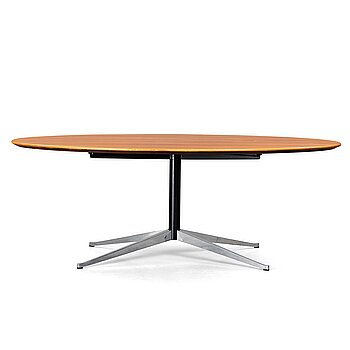 "13. Florence Knoll, an ""Oval 96"" table for Knoll International, post 1961."