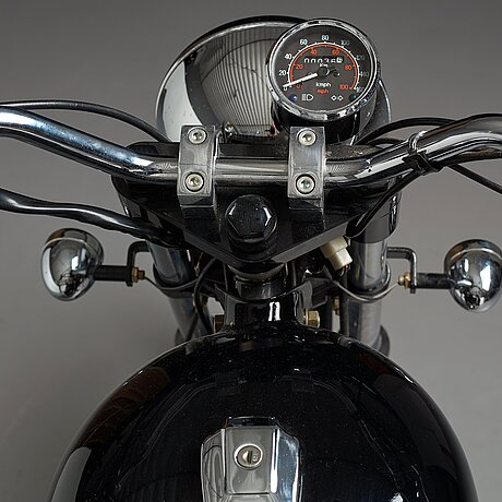 """Mats theselius, a motorcycle """"mc hommagé à royal enfield"""", 500 cc, for källemo, sweden post 2001, edition of 9 examples."""