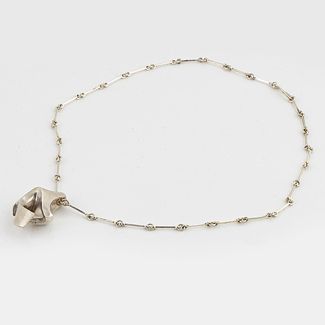 Lapponia silver necklace, 1978.