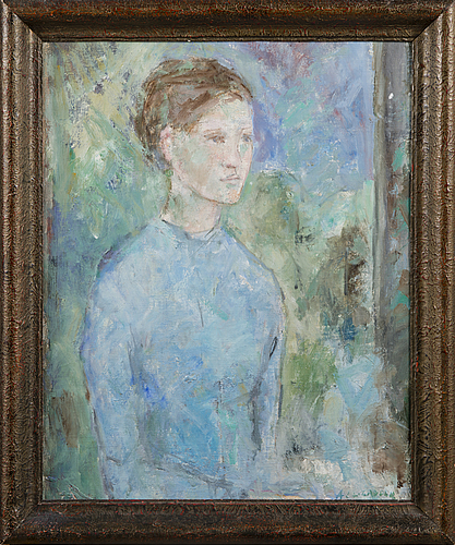 Anitra lucander, portrait of a lady.