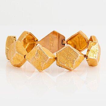 "968. A 14K gold Lapponia bracelet ""Lapplands stenar"" design Björn weckström."