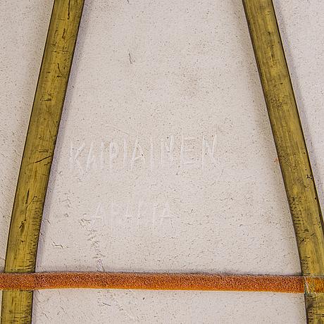 Birger kaipiainen, koristevati, kivitavaraa, signeerattu kaipiainen arabia.