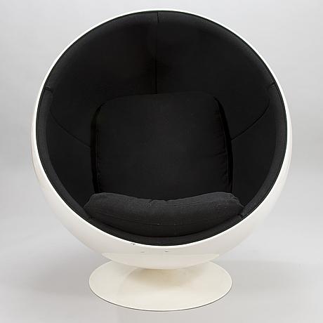 Eero aarnio, 'ball chair', adelta. model design year 1963.