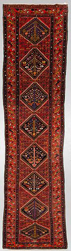 Gallerimatta, old, västpersisk, ca 382 x 102 cm.