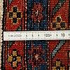 A runnerm old west persian, ca 326 x 76 cm.