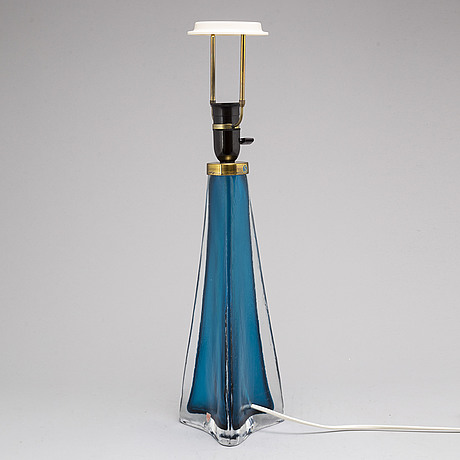 Carl fagerlund, a glass table light from orrefors.